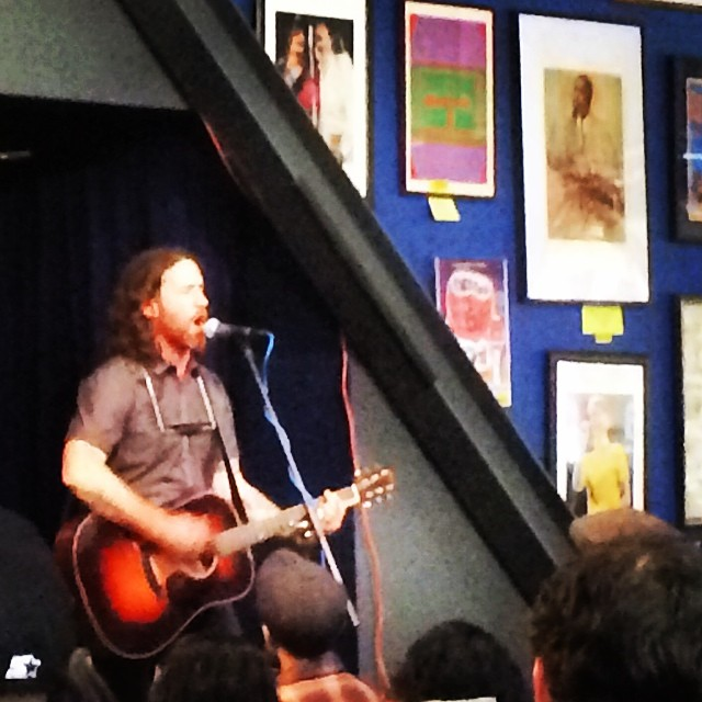 Stoked to see the great @chuckragan this fine hollywood afternoon