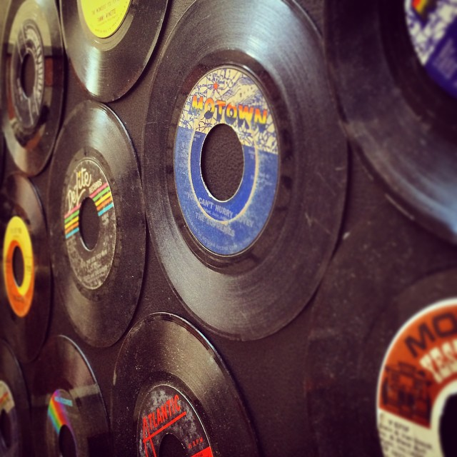 Found a bunch of 45's today at a thrift store (from Kool and The Gang to Tammy Wynette to the Supremes) and I'm gonna go out on a limb and say these are cooler than any mp3 I've ever owned